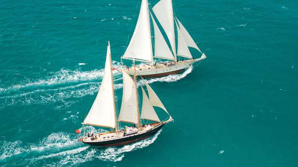 Photo of S/Y Argo, S/Y Vela, S/Y Ocean Star